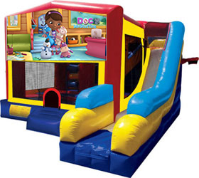 Combo Bouncers Slides And Obstacle Course Rentals In