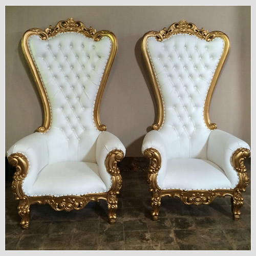 Baltimore Throne Chair - Rent Baby Shower Chair - Rent Tables and ...
